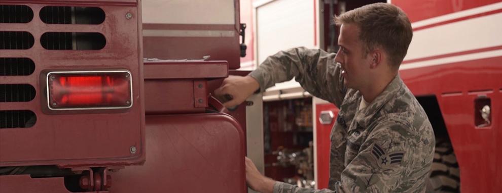 Call to Duty - Senior Airman Nicholas Carssow