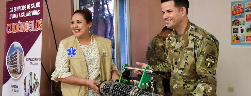 JTF-Bravo donates equipment, supports Comayagua