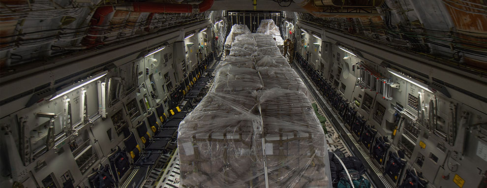62 AW Airmen transport much-needed food