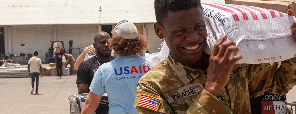 Haitian-born Black Hawk pilot supports JTF-Haiti earthquake relief efforts
