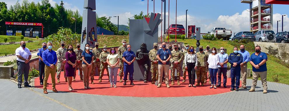 JTF-Bravo strengthens partnerships in Central America through disaster response exchange