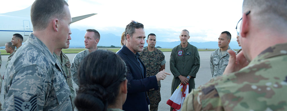 Congressional Delegation gets hands on with JTF-Bravo's role in regional security