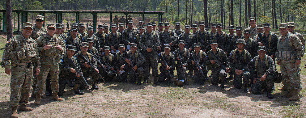 Honduran soldiers complete U.S. Army led Security Forces Training