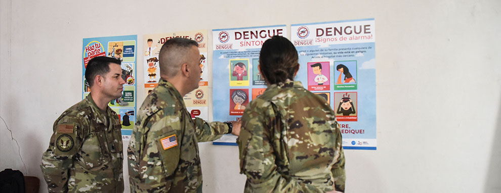 JTFB provides ammunition to fight deadly virus in Honduras
